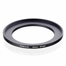 RISE(UK) 52-67 MM 52 MM- 67 MM 52 to 67 Step Up Ring Filter Adapter