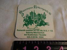 39  Vintage Assorted Beer Bar Paper Coasters--satzveyer ritterspiele 86