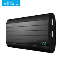 Vinsic 20000mAh Portable Power Bank External Battery Charger For iPhone 7 6 Plus