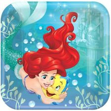 LITTLE MERMAID Dream Big LARGE PAPER PLATES (8) ~ Birthday Party Supplies Dinner
