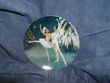 """THE SNOW KING AND QUEEN"",Shell Fisher,4th ""Nutcracker Ballet Plate Collection"""