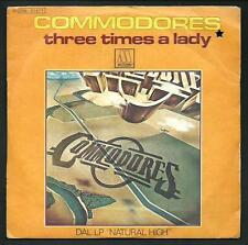 "Commodores : Three times a lady - vinile 45 giri / 7"" del 1978"