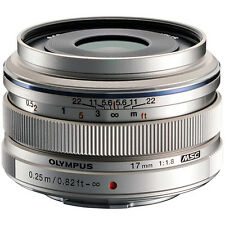 New Olympus 17mm f/1.8 M.ZUIKO Wide-Angle Lens for Micro 4/3 Silver FREE SHIP