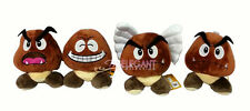 "Nintendo Super Mario Brothers Set of 4 Goomba Wing Mushroom 6"" Soft Plush Doll"