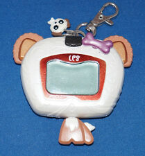 DOG LITTLIEST PET SHOP PET ELECTRONIC VIRTUAL PET HANDHELD KEYCHAIN TOY HASBRO 1