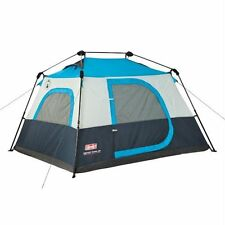 NEW Coleman Instant Cabin 4 Person Tent  Super Easy Setup High Quality