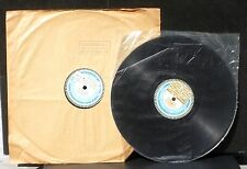 2 x 78 trs / 78 RPM Pyral (30 cm & 25 cm) Weber Ecole musique des Lilas E.Legron