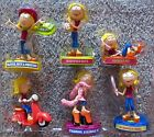 Disney Store Lizzie McGuire 6 Figurine Toy Party Favor Cake Toppers Playset