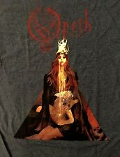 OPETH cd lgo THE SORCERESS Official Grey SHIRT Size LRG new