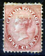 CANADA Queen Victoria 1859 COLONY OF CANADA 1c. Deep Rose SG 30 MINT