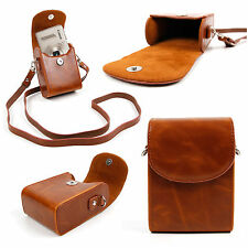 Vintage PU Leather Case for Canon PowerShot SX130 IS, SX150, SX210 IS, SX220 HS