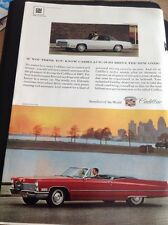 P1-2 Ephemera Advert 1967 Gm Cadillac