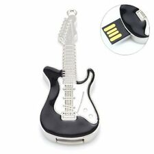 Electric Guitar Black Pendant Shaped 16 GB  Fancy Cool Cute Stylish USB PenDrive