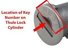 Ski & Roof Rack Keys,Roof Box Keys-Cut To Code Number-Thule,Rola,-FREE POSTAGE