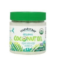 Harvest Bay Organic COCONUT OIL 16 oz Heart Skin Brain Health