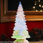 32cm Christmas Colour Changing Water Tree Ornament Xmas Decoration Festive