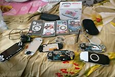 4 PSP's 1 PSP 3000 & 3 PSP 2000 (faulty + repairs) massive clearance with 2game
