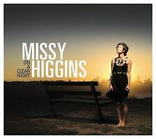 CD Missy Higgins 'On a Clear Night' Aussie singer songwriter on Reprise 2007