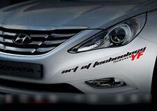 Decal Point Sticker DUB Slogan Emblem S-size For 11 12 Hyundai i45 : YF Sonata