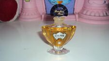 GUERLAIN SHALIMAR PURE PARFUM 7.5 ML/0.25 OZ CRYSTAL BOTTLE RARE