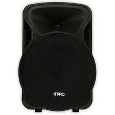 "Technical Pro PVOLT15BT Bluetooth 15"" Powered 1500 Watt Speaker USB / SD Active"