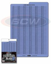 BCW Blue Comic Book Indexing Dividers for Comic Boxes Qty: 10