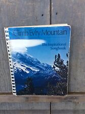 Clim Ev'ry Mountain Songs For Piano, Organ, And Guitar Songbook