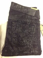 TRUE RELIGION CASEY TONE ON TNE SUPER T WOMEN JEAN W32A993LT6 NWT S-28W $358