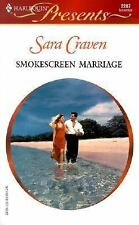 Smokescreen Marriage by Craven, Sara, Good Book