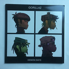 GORILLAZ - DEMON DAYS * LP CLEAR VINYL * MINT * FREE P&P UK ** GDD0724387383814