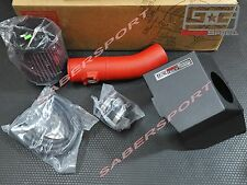 GrimmSpeed (Red) Cold Air Intake Kit for 2008-2014 WRX STI, 09-13 Forester XT
