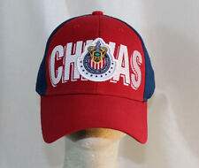 Chivas Mexico Authentic Soccer cap hat embroidered adjustable strap team colors