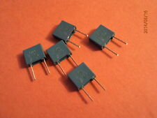 BOX POLYESTER CAPACITOR   0.1uf / 63v  QTY 5 off