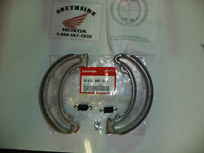 GENUINE HONDA REAR BRAKE SHOE & SPRING SET CB350 CB360 CB400F CJ360T CL350 SL350