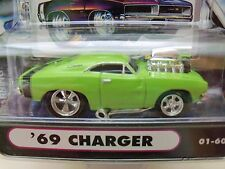 MUSCLE MACHINES (1969) '69 DODGE CHARGER R/T  - SUPERCHARGED - 1/64 DIECAST