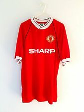 Manchester United Retro Home Shirt 1990. Small Adults. S Score Draw Man Utd Top.
