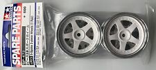 Tamiya 50672 5-Spoke 2-Piece Wheels (1 Pair) (TA01/TA02W) NIP
