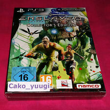 ENSLAVED ODYSSEY TO THE WEST COLLECTOR  SONY PS3 NEUF SOUS BLISTER 100% FRANCAIS