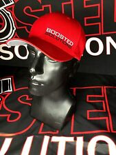 Honda VTEC Boosted Solutions Red L/XL FlexFit Hat Boost Turbo Precision M/T