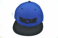 NEW YMCMB YOUNG MONEY casual fashion SNAPBACK baseball hat NAVY/BLACK *ONE SIZE