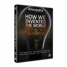 HOW WE INVENTED THE WORLD DISCOVERY CHANNEL DOCUMENTARIES BOXSET NEW 2 DVD R4