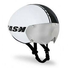 KASK BAMBINO Pro Road Cycling Helmet - White/Black / Clear Lense  [M: 55-58cm]