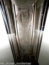 ORREFORS Schweden Art Deco Glas ° Nude ° Glasschnitt ° Design Simon Gate 1933