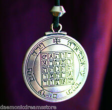 MAGICKAL TALISMAN OF SATURN for Power & Respect. Occult Magic Amulet Witchcraft