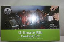 Rib Cooking Set Professional Backyard Classic  Gas-Charcoal-Electric NEW NWT