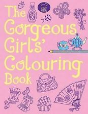 The Gorgeous Girls' Colouring Book, Jessie Eckel, New