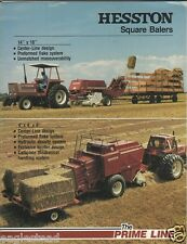 Farm Equipment Brochure - Hesston - 4600 4800 et al Square Baler - 1981 (F1363)