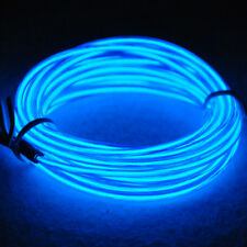 9ft Blue Neon Glowing Strobing Electroluminescent Wire (El wire) 9 feets long