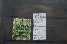 FRANCOBOLLI GERMANIA REICH USATI N°274 (A8376)