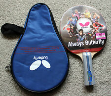 Butterfly Table Tennis Paddle / Bat / PingPong Racket: TBC-402, with Case, New